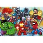 Puzzle  Clementoni-26454 XXL Pieces - Marvel Super Heroes