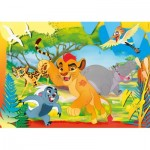 Puzzle  Clementoni-26584 XXL Pieces - The Lion Guard