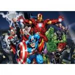 Puzzle  Clementoni-26749 XXL Pieces - Avengers