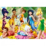 Puzzle  Clementoni-26921 Disney Fairies