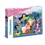 Puzzle  Clementoni-26982 Disney Princess - Mulan