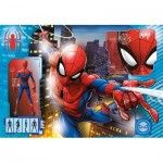 Clementoni-27118 Spiderman Supercolor Puzzle