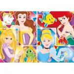 Clementoni-27146 Disney Princess-Supercolor Puzzle
