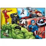 Puzzle  Clementoni-27284 The Avengers