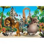 Puzzle  Clementoni-27941 Madagascar