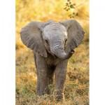 Puzzle  Clementoni-27999 WWF - Elephant