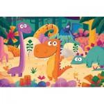 Puzzle  Clementoni-28506 XXL Pieces - Dinosaurs