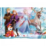 Puzzle  Clementoni-28513 XXL Pieces  - Supercolor Disney Frozen 2