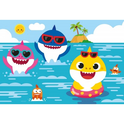 Puzzle Clementoni-28519 XXL Pieces - Baby Shark