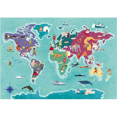 Puzzle Clementoni-29064 Customs & Traditions In The World