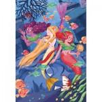 Puzzle  Clementoni-29307 Mermaids