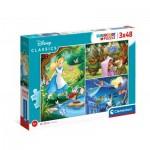 3 Puzzles - Disney Classic