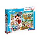 3 Puzzles - Mickey