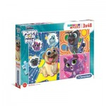 3 Puzzles - Puppy Dog Pals