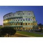 Clementoni-30768 Jigsaw Puzzle - 1000 Pieces - The Colosseum, Rome