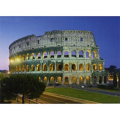 Clementoni-30768 Jigsaw Puzzle - 1000 Pieces - The Colosseum, Rome