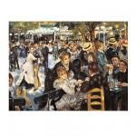 Clementoni-31412 Jigsaw Puzzle - 1000 Pieces - Renoir : Bal du Moulin de la Galette