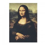 Clementoni-31413 Jigsaw Puzzle - 1000 Pieces - Leonardo da Vinci : The Mona Lisa