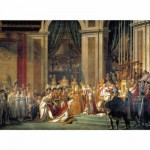 Clementoni-31416 Jigsaw Puzzle - 1000 Pieces - David : The Coronation of Napoleon