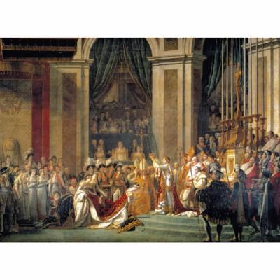 Clementoni-31416 Jigsaw Puzzle - 1000 Pieces - David : The Coronation of Napoleon