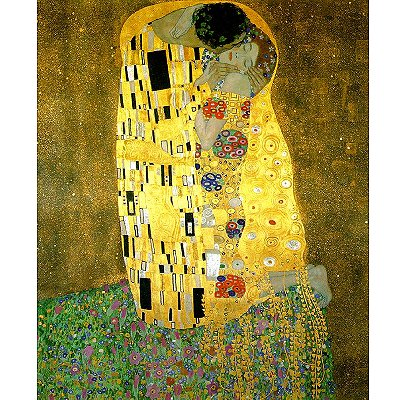Clementoni-31442 Jigsaw Puzzle - 1000 Pieces - Klimt : The Kiss