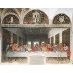 Clementoni-31447 Jigsaw Puzzle - 1000 Pieces - Leonardo da Vinci : The Last Supper