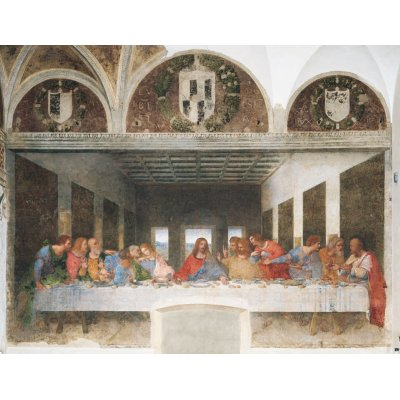 Clementoni-31447 Jigsaw Puzzle - 1000 Pieces - Leonardo da Vinci : The Last Supper