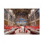 Puzzle  Clementoni-31598 Pope Francesco
