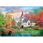 Puzzle  Clementoni-31675 Colorful autumn