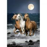 Puzzle  Clementoni-31676 Galopping Horses