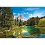 Puzzle  Clementoni-31680 The Blue Lake