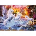 Puzzle  Clementoni-31805 Unicorns