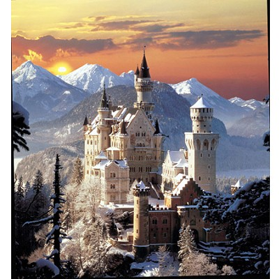 Clementoni-31925 Jigsaw Puzzle - 1500 Pieces - Neuschwanstein Castle, Germany