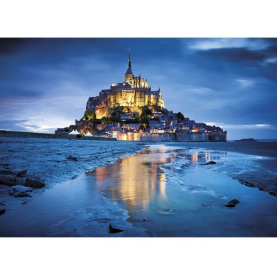 Clementoni-31994 Jigsaw Puzzle - 1500 Pieces : Saint Michael's Mount, France