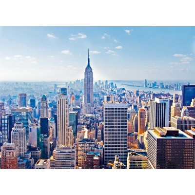 Clementoni-32544 Jigsaw Puzzle - 2000 Pieces - Manhattan, New York