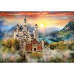 Puzzle  Clementoni-32559 Neuschwanstein, Germany