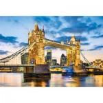 Puzzle  Clementoni-32563 Tower Bridge At Dusk