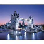 Clementoni-33527 Jigsaw Puzzle - 3000 Pieces - Tower Brige, London