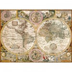 Clementoni-33531 Jigsaw Puzzle - 3000 Pieces - Ancient World Map