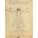 Puzzle  Clementoni-35001 Leonardo da Vinci: The Vitruvian Man