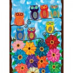 Puzzle  Clementoni-35024 Ambrosino: Cute little Owls