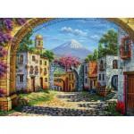 Puzzle  Clementoni-35025 Zarraga: The Volcano