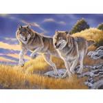 Puzzle  Clementoni-35033 Agnew: The Wolves