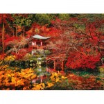 Puzzle  Clementoni-35035 Asian Dream