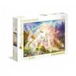 Puzzle  Clementoni-35054 Unicorns in the sunrise