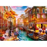 Puzzle  Clementoni-35063 Sunset in Venice