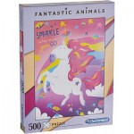 Puzzle  Clementoni-35066 Fantastic Animals - Unicorn
