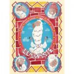 Puzzle  Clementoni-35069 Llamaste