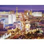 Clementoni-36510 Jigsaw Puzzle - 6000 Pieces - Las Vegas