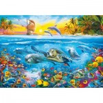 Puzzle  Clementoni-36523 Under Water